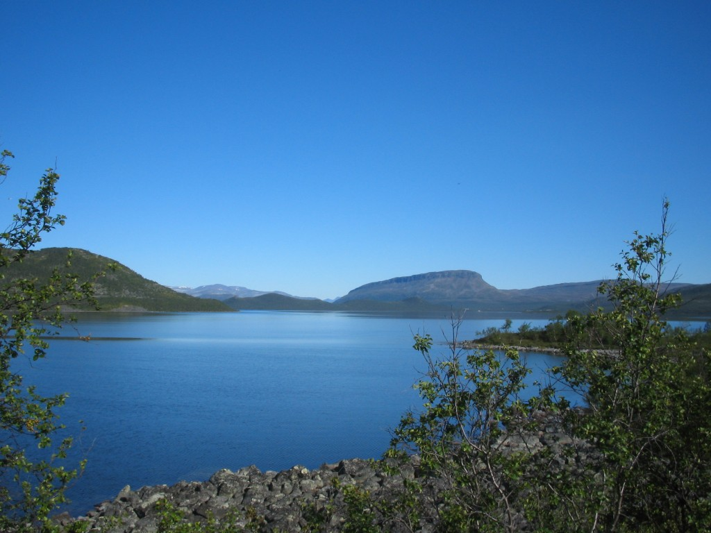 Kilpisjärvi ja Saana